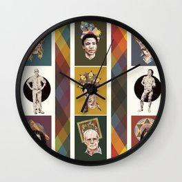The Saints of Greendale Wall Clock
