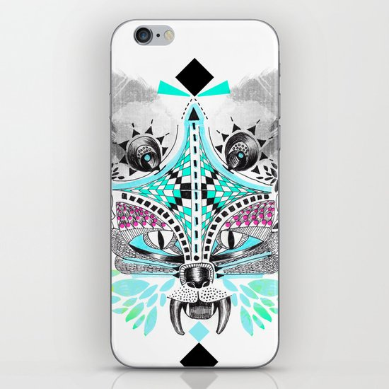 Undefined creature iPhone & iPod Skin