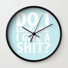 Irritation Wall Clock