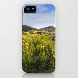Llyn Ogwen and Tryfan iPhone Case