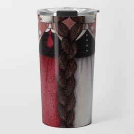 Snow-White and Rose-Red (1) Travel Mug