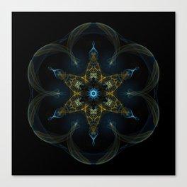 Seed of Life Mandala Canvas Print