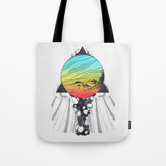 Filtering Reality Tote Bag