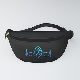 Corn Maize Heartbeat Gift for Foodie Dad Fanny Pack