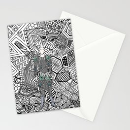 Heroes Fashion 5 Stationery Cards