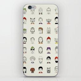 Random People iPhone Skin