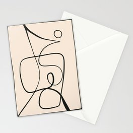 Abstract line art 51 Stationery Cards