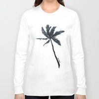coconut wishes Long Sleeve T-shirts featuring Coconut Palms by Art by Risa Oram