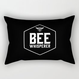 Bee Whisperer Rectangular Pillow