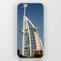 arab iPhone & iPod Skins featuring Dubai - Burj Al Arab by gdesai
