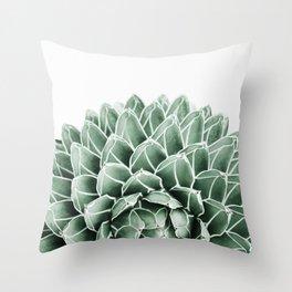 Succulent splendour Throw Pillow