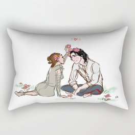 Ben Solo in Love Rectangular Pillow