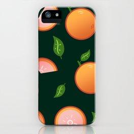 Citrus-Dark Green iPhone Case