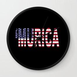 'Murica Wall Clock
