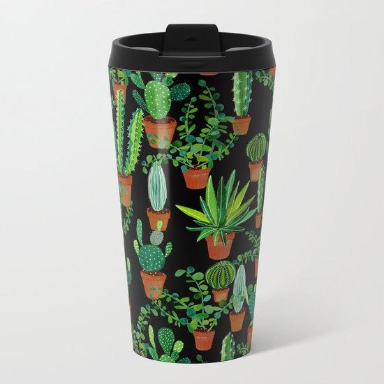 Cacti Metal Travel Mug