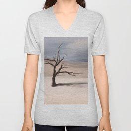 Alone Tree Unisex V-Neck