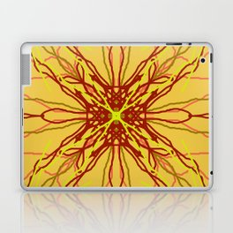shades of red and yellow Laptop & iPad Skin