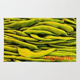 Crispy Sugar Peas Rug