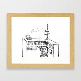 Sylvia Plath's Room Framed Art Print