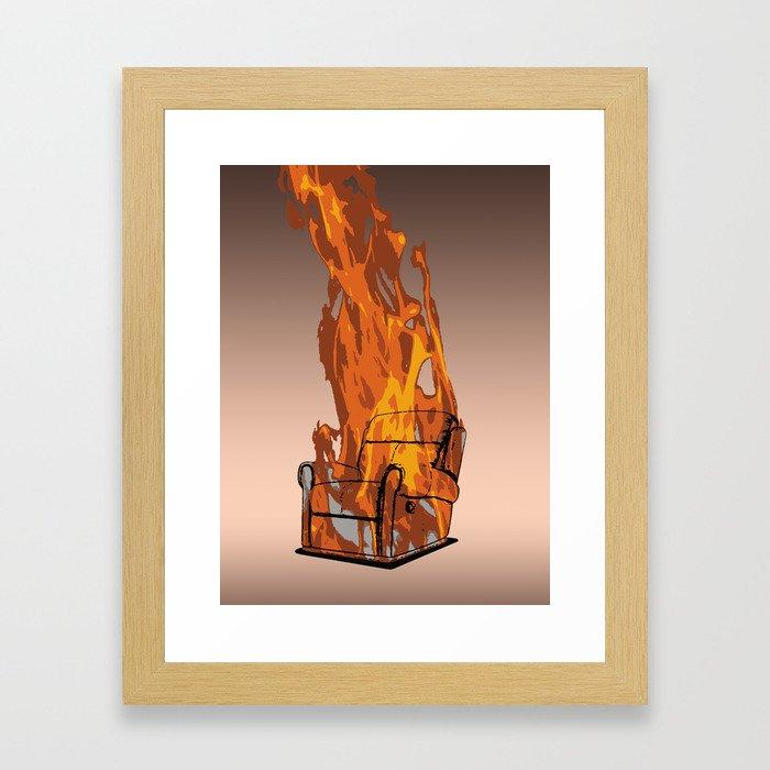 Armchairageddon! Framed Art Print