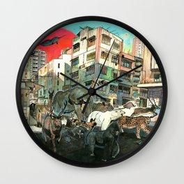 Born Free Wall Clock