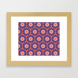 Cosy Moroccan Framed Art Print
