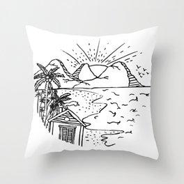 My Dream House Throw Pillow
