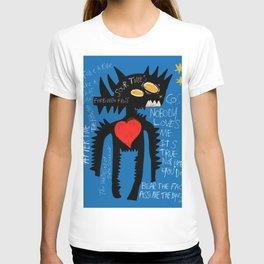 Blue Man Jazz T-shirt