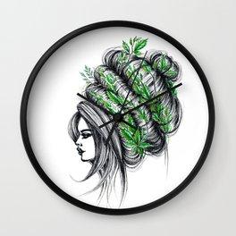 GIRLZ - NATURE Wall Clock