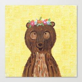Beary Sweet Canvas Print