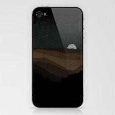 Moonrise (Sepia) iPhone & iPod Skin