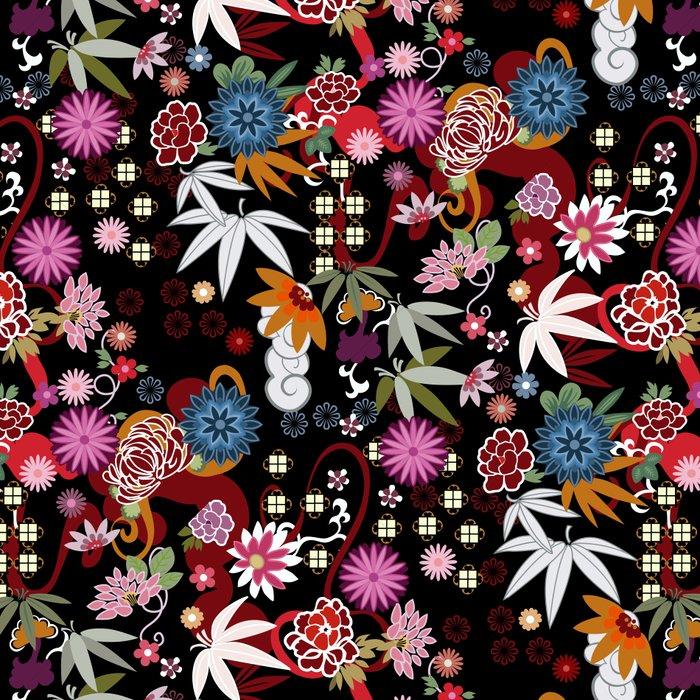 Kimono Black Leggings