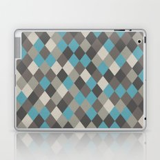 Harlequin Grey Laptop & iPad Skin