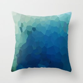 Sea Moon Love Throw Pillow
