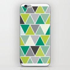 Triangulum - Emerald iPhone & iPod Skin