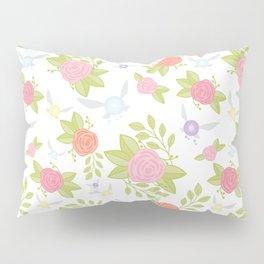 Garden of Fairies Pattern Pillow Sham