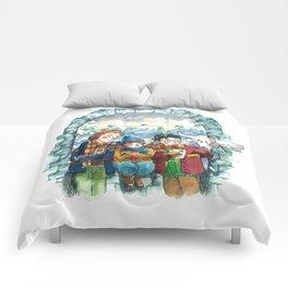 Golden Trio Comforters