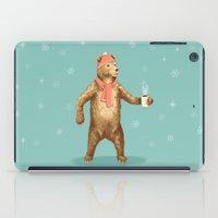 polar bear iPad Cases featuring Polar Bear by Fresh Prints