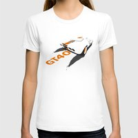 ford T-shirts featuring Ford GT40 by VelocityGallery