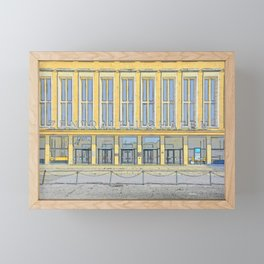 Zentralfughafen Berlin, Central Airport Berlin Framed Mini Art Print