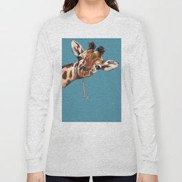 Sneaky Giraffe Long Sleeve T-shirt