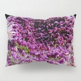 field carmine flower Pillow Sham