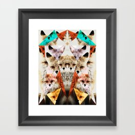 WHAT THE FOX SAY Framed Art Print
