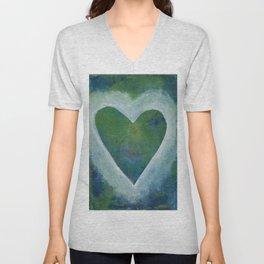 Heart No. 24 Unisex V-Neck