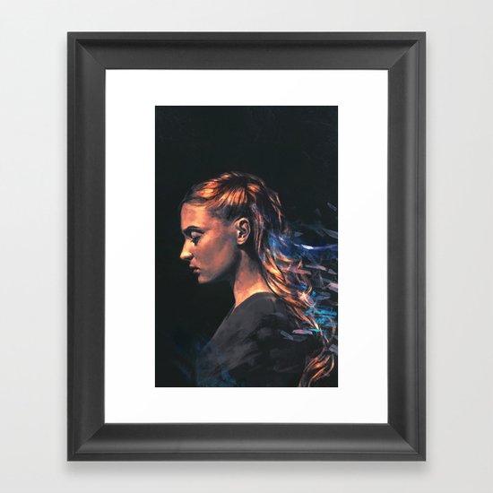 Amethyst Framed Art Print