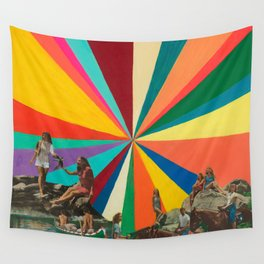 Summer Vacation Wall Tapestry