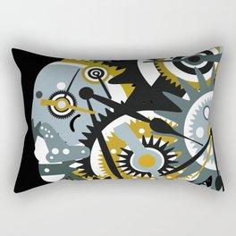 Steampunk Heart Rectangular Pillow