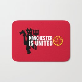 Manchester Is United Bath Mat