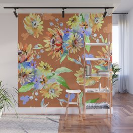 Fall Floral Jubilee Wall Mural