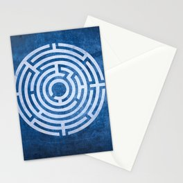 Solving Mazes Stationery Cards